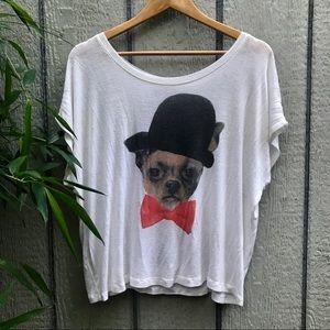 fancy Chihuahua dog shirt